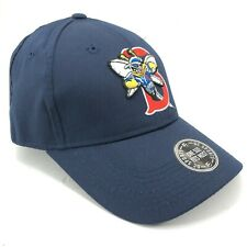 Binghamton Mets Youth Adult Sizes Outdoor Cap Adjustable Hat Blue Bee in B Logo
