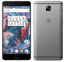 "OnePlus 3 64GB Grey Graphite A3000 (FACTORY UNLOCKED) 5.5"" FHD 16MP 6GB RAM"