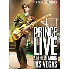 Prince: Live At The Aladdin Las Ve DVD Region ALL