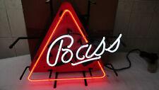"New Bass Ale Beer Neon Light Sign 18""x16"" Glass Decor Lamp Windows Display"