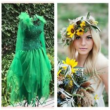 Adult Fairy  Woodland Forest Costume ~ Plus & One Size St Patrick's Day Costume