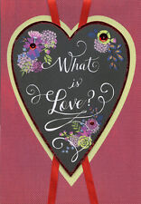 What is Love Hand Crafted Over Sized Valentines Day Card for Wife