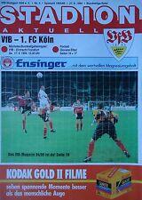 Programm 1994/95 VfB Stuttgart - FC Köln