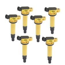 Accel Ignition Coil 140495-6; Super Coil Yellow Coil-On-Plug for 2003-12 Toyota