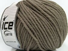 3 PELOTES DE LAINE ICE YARNS SUPERWASH LAINE BULKY (100% SUPERWASH LAINE) CHA...