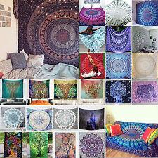 Indisch Elefant Mandala Blume Tapisserie Beach Wandteppich Wandbehang Yoga Matte