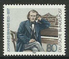 GERMANY. 1983. 150th Birth Anniv of Johann Brahms Commemorative. SG: 2027. MNH.