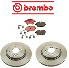 Mini Cooper 7/06-08 R52 L4 1.6L Brembo Front Brake Kit with Rotors and Pads