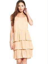 BNWT River Island Light Pink Slip Summer Shift Dress Size 10 - Cute