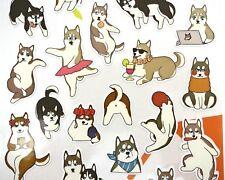 Japanese Shiba Inu stickers! Kawaii stickers, cute stickers, planner stickers