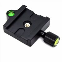 Adapter Mount Quick Release Clamp QR Plate For Camera Tripod Head Monopod