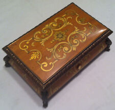 Reuge Music Baroque Music Box With 3.50 Note Movement-Mozart,Bocherini ,Haydn