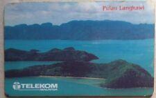 Malaysia Used Phone Cards - Pulau Langkawi
