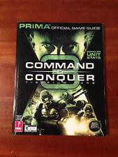 Command & Conquer 3 Tiberium Wars Prima Official Game Guide