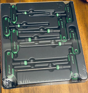 *NEW* Snap On AWSGT800A 8 Pc TORX T-Handle/L-Shaped Hex Combo Soft Grip