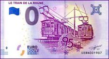 UE BN-3 / LE TRAIN DE LA RHUNE / BILLET SOUVENIR 0 € / 2019-3