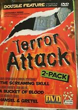 Terror Attack Double Feature The Screaming Skull/A Bucket Of Blood + Short DVD