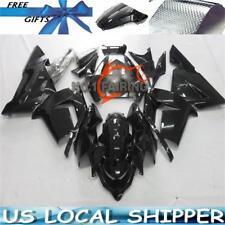Fairing Bodywork Gloss Black Pre-drilled Fit KAWASAKI Ninja ZX-10R ZX10R 04 - 05
