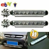 2x Wind Power LED Car Daytime Running Light Fog Lamp Car Driving Hot Day DR P3M7