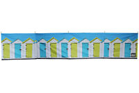 Beach Windbreak Wooden Poles Perfect for Camping - Beach Huts Design