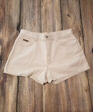 Calvin Klein Womens Size 9 Cutoff Shorts Khaki Jean Enzyme Cotton Short Mini