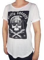 Weiß Neues Yakuza Damen Respirator Shirt