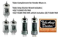 PREMIUM Tube set for Fender Blues Jr electric guitar amplifier  TUBE AMP DOCTOR