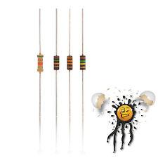 8 x VTM Kohlewiderstand / Carbon Resistor Set 0,25W 5% NOS Vintage 15kΩ - 150kΩ