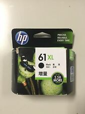 HP Black 61 XL Printer Cartridge New Still In The Box