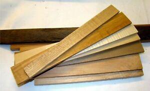 Holzleisten gemischt einheimisch 1kg Bastelholz Schmuckholz