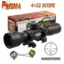SNIPER Tactical  4X32 .223 .308 Scope /w Rings