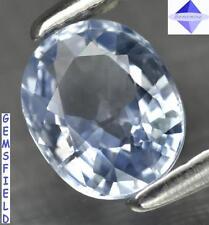 TOP VVS - 0.76ct !! SAPHIR de SRI LANKA ex Ceylan - pur bleu glacé - poli AAA++