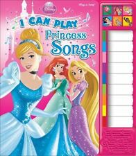 Disney Princess: I Can Play Princess Songs: Piano Sound Book (Little Piano Book)