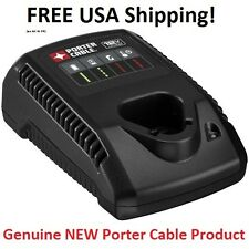 Porter Cable 12V max Li-Ion 12 Volt FAST BATTERY CHARGER PCL12C GENUINE New!