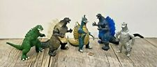 "Mixed Lot Of 5 Godzilla Figures 3"""