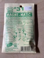 two pair *NIP* Kadee HO scale Magne-Matic #35 couplers w// draft gear boxes