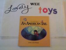 1986 An American Tail: Little Lost Fievel storybook - EXCELLENT CONDITION