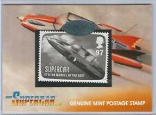 Supercar Gerry Anderson Great British Postage Stamp Card PS1