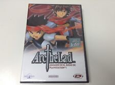 ARC THE LAD . DVD ESPAÑA . SERIE COMPLETA 5 DVD . EN CASTELLANO