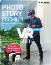MAGIX - Photostory Premium - VR Suite (inkl. Smartphone VR-Brille) - Software -