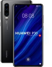 Huawei P30 128GB 6GB RAM DUAL-SIM Black, TOP Zustand, Display Burn-In