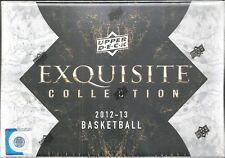 2012-13 UD Exquisite Factory Sealed Basketball Hobby Box Michael Jordan AUTO ???