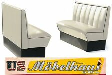 hw-120w américain dinerbank BANQUETTE diner bancs meuble 50´s USA STYLE