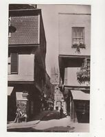 Mercery Lane Canterbury Kent Vintage RP Postcard HJ Goulden 682b