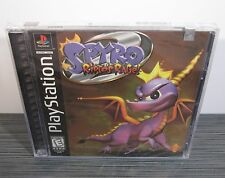 Spyro 2: Ripto's Rage (PlayStation, PS1) 1st Print! - BLACK LABEL - RARE!