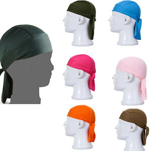Lovely Cycling Bike Bicycle Sports Headscarf Pirate Bandana Hat 11 Colors h3