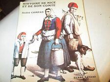 Histoire de Nice et de son Comté....COMPAN André.