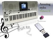 PSR S710 USB-Stick+AMAZING Song Styles VOLUME 2 NEW