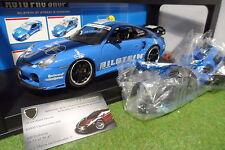 PORSCHE 911 Turbo 996 Bleu BILSTEIN au 1/18 AUTO PRO SHOP voiture miniature