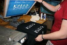 T Shirt Screen Printing Service Start Up Sample Business Plan!
